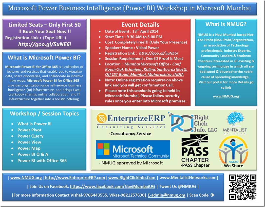 Microsoft power business intelligence power bi workshop in microsoft power business intelligence power bi workshop in microsoft mumbai office xflitez Choice Image