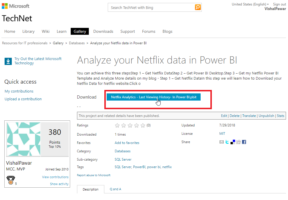Power BI Desktop – (B)usiness (I)ntelligence Mentalist
